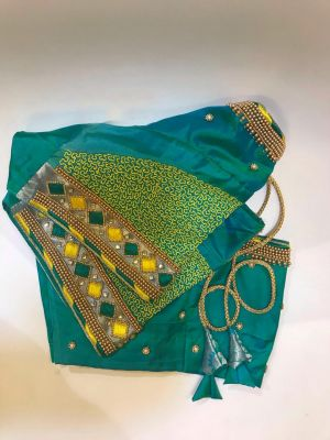 Diamond Design Aari Blouse